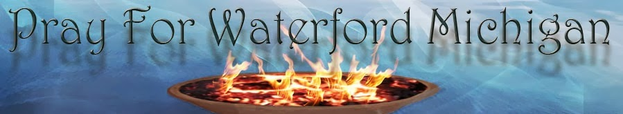 Prayer For Waterford Michigan