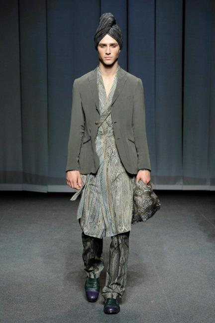 Etro Spring-Summer 2013 Menswear Photo 14
