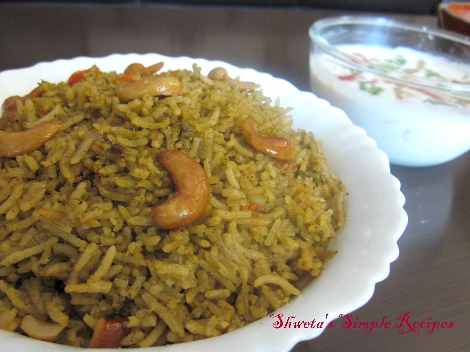 Palak Rice | Instant Rice Recipe | Divine Taste With ...