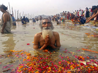Ganga devotees