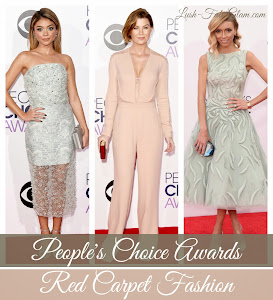 See the best dressed celebrities at the 2015 People's Choice Awards & more fab red carpet style!