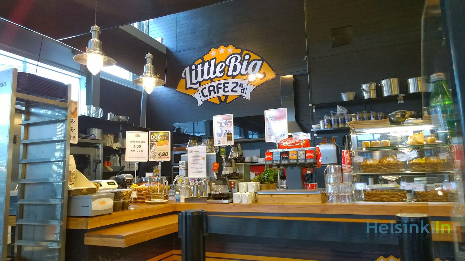 Little Big Cafe in Jätkäsaari