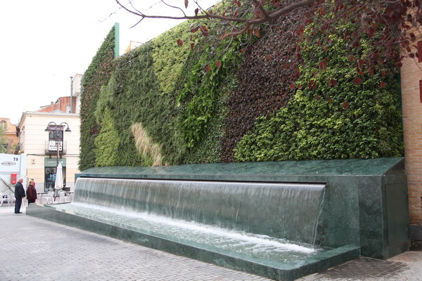 De jardines verticales for Jardin vertical barato