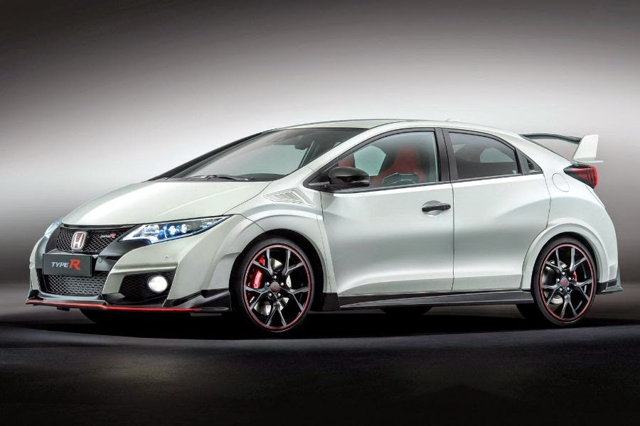 Honda Civic Type R (2015) Front Side