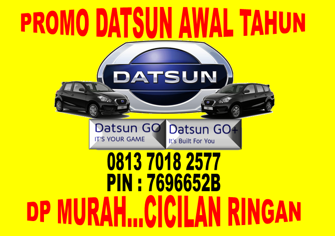 Promo Datsun Awal Tahun DP Murah dan Cicilan Ringan di 0813 7018 2577
