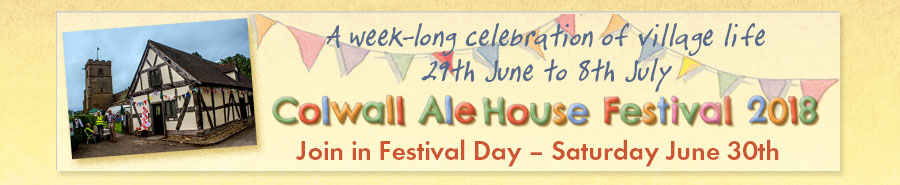 Colwall Ale House Festival