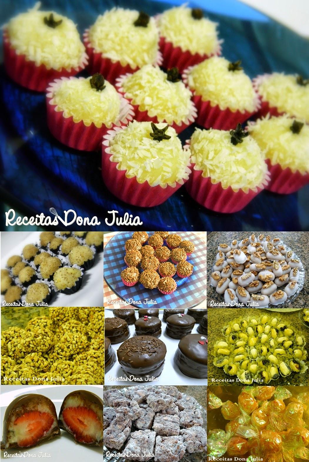 10 Receitas de doces para sua festa