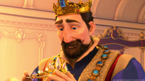 She Said My Dad Isthe King From Tangled King Disney