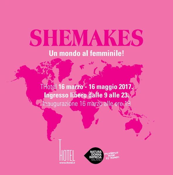 """Opella in mostra a Cagliari per """"SheMakes"""" dal 16 Marzo al 16 Maggio."""