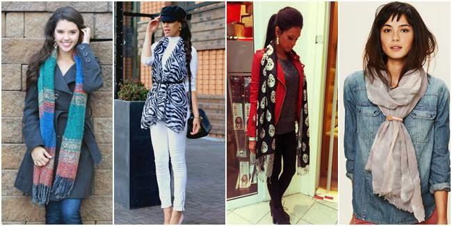 Fashionable Dan Hangat Dengan Syal