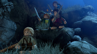 เกมส์ Lego the lord of the rings xbox 360
