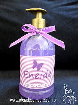 Sabonete liquido personalizado