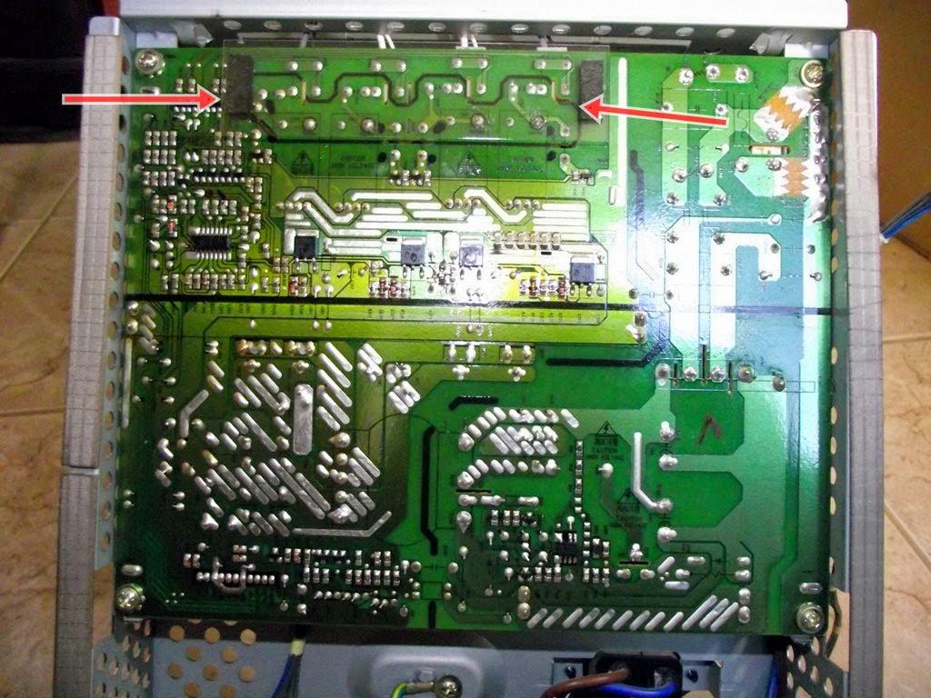 Placa da fonte do Monitor LG M237WA