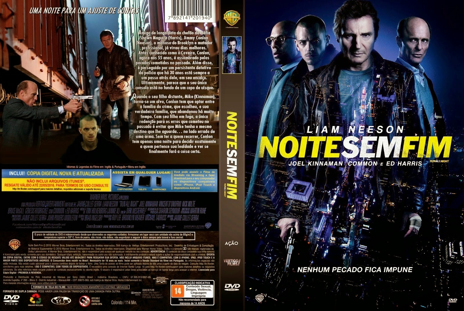 Noite Sem Fim BluRay 720p Dual Áudio Noite 2BSem 2BFim 2B  2BCapa 2BFilme 2BDVD