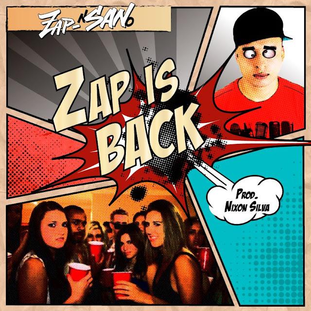 """Zap-San assumi seu alter ego cômico O """"Zap-nSANo"""" e lança musica bem humorada. #ZapIsBack"""