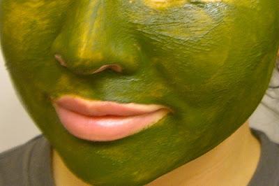 Gree Tea Face Mask