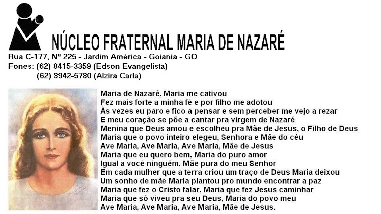 NUCLEO FRATERNAL MARIA DE NAZARÉ
