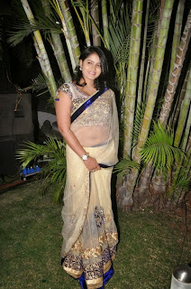 Tanusha Hot Saree Still