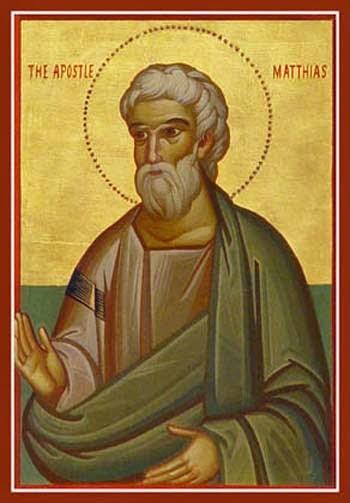 Resultado de imagem para Matias, o apóstolo substituto