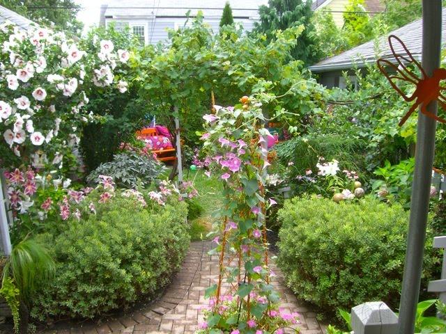 Banco de im genes 40 ideas sobre decoraci n exterior en for Flores de jardin exterior