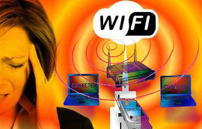 Dampak sinyal Wifi