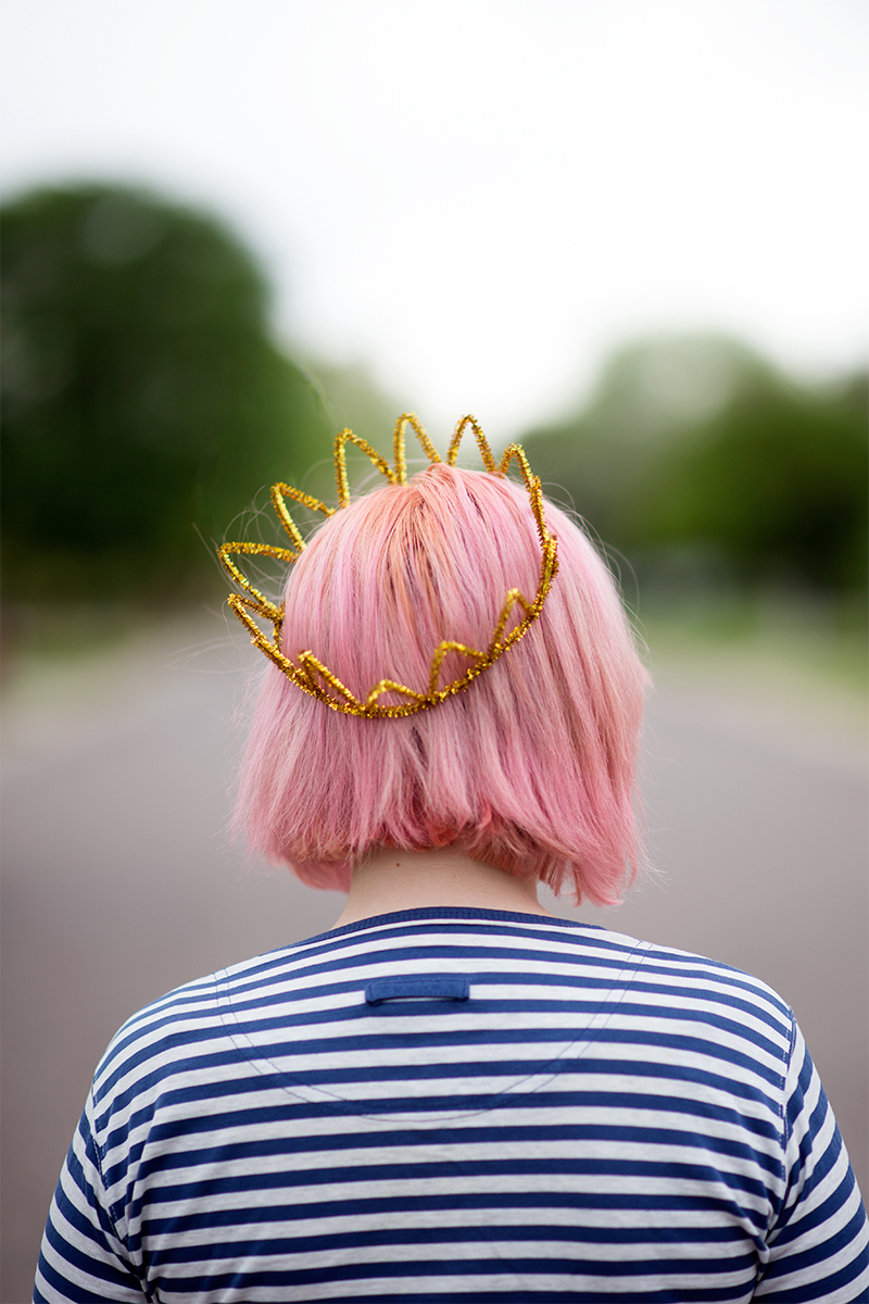 Gold Crown - littleladylittlecity.com