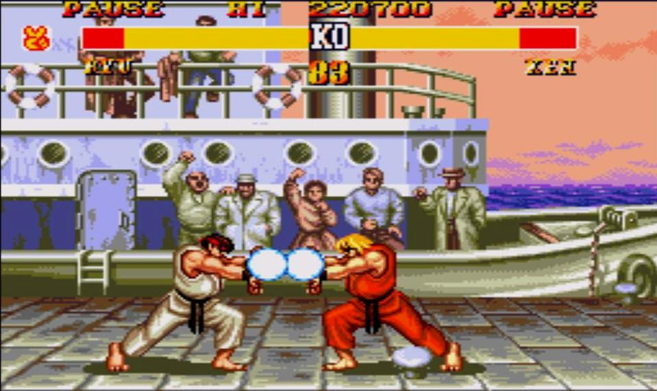 ... do Street Fighter II