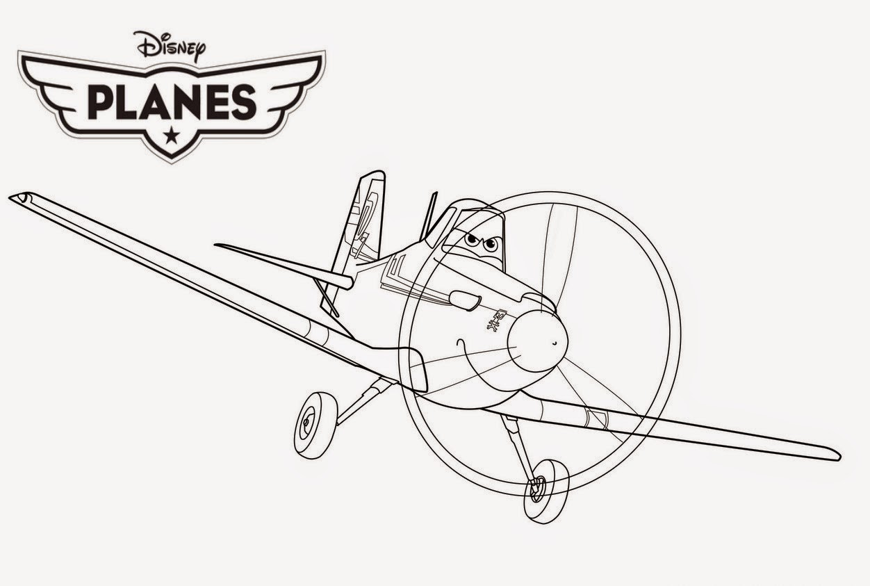 Disney Planes Coloring Drawing Free wallpaper  Anggela Coloring
