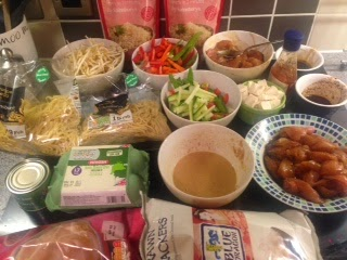 Caroline makes slimming world fakeaway chinese new year meal New slimming world meals