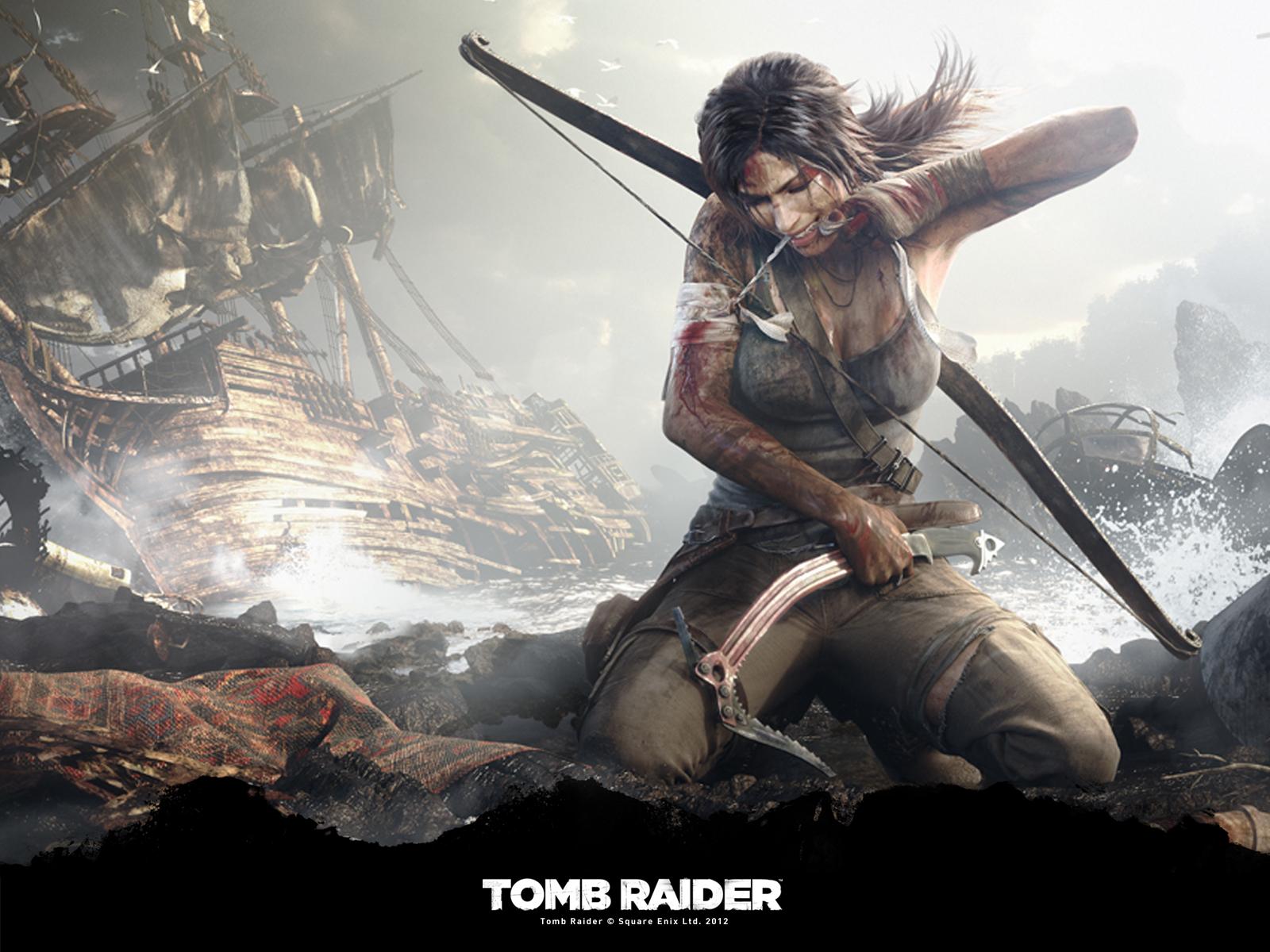 Tomb raider 2012 crystal dynamics square enix game