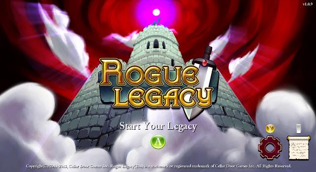 rogue legacy title screen pc