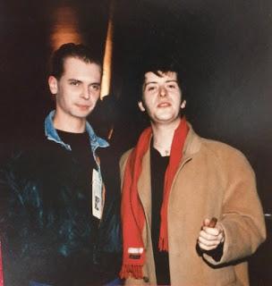 Klaus Guingand & Jacno en 1987