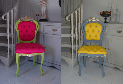 vintage restored chairs from ghost furniture
