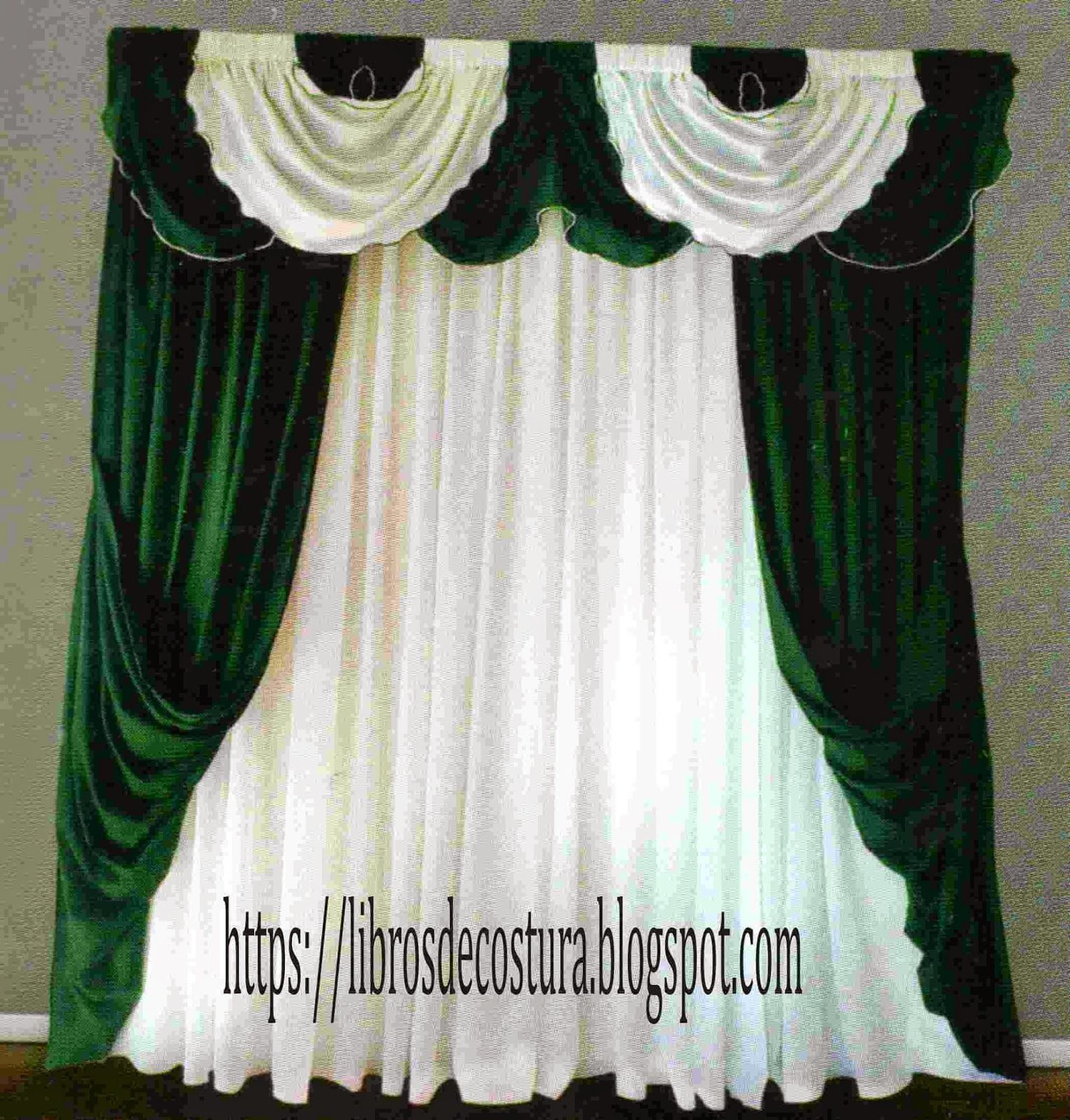 Libros de costura como hacer cortinas paso a paso - Como coser cortinas paso a paso ...