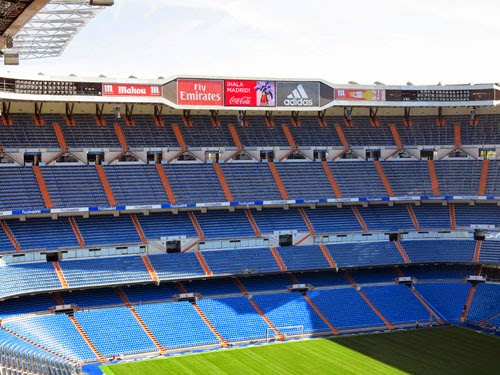 Santiago Bernabeu stadium in Madrid could be renamed the Abu Dhabi Bernabeu.