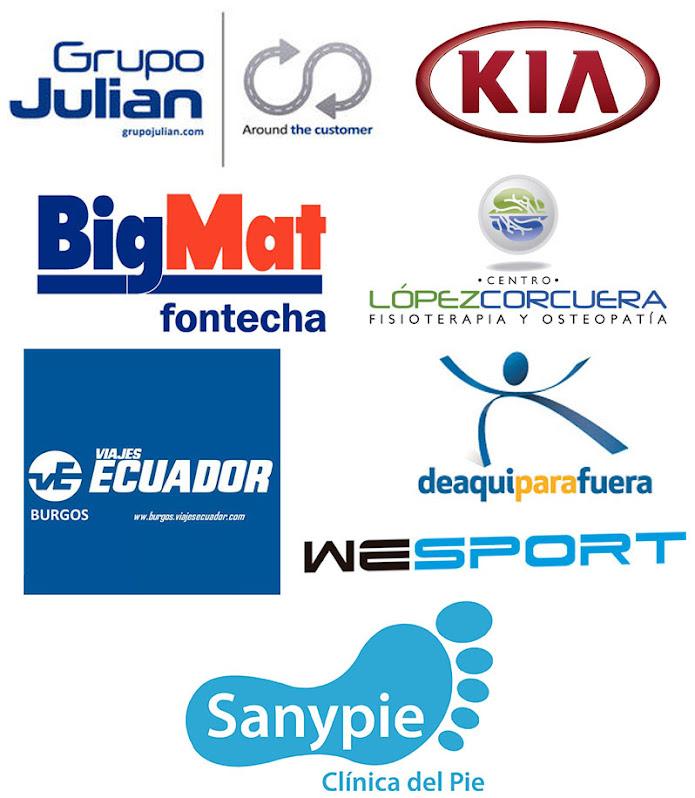 Otros patrocinadores y colaboradores
