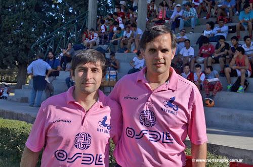Fabián Décima y Fernando Martorell URT)
