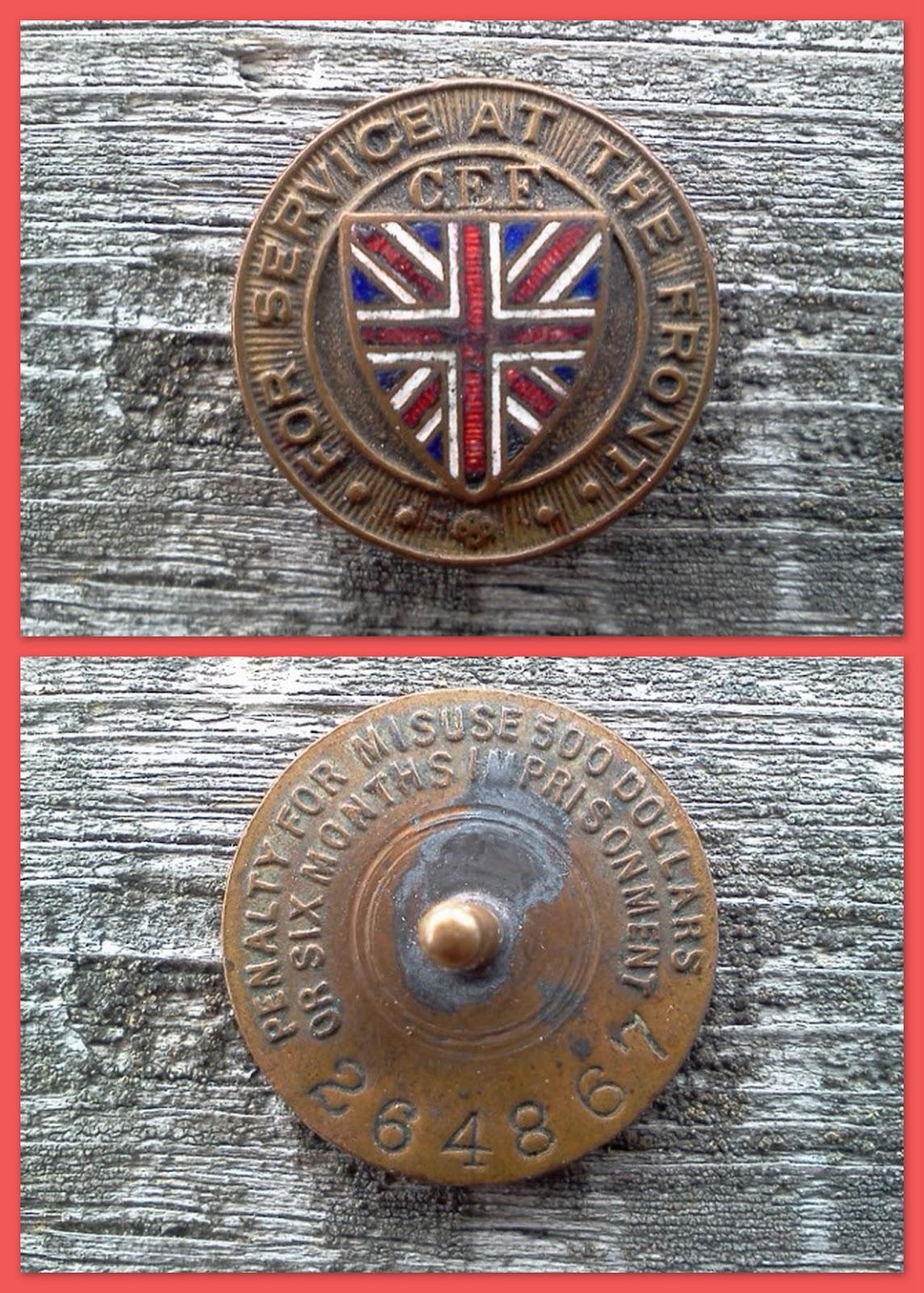 C.E.F. medal