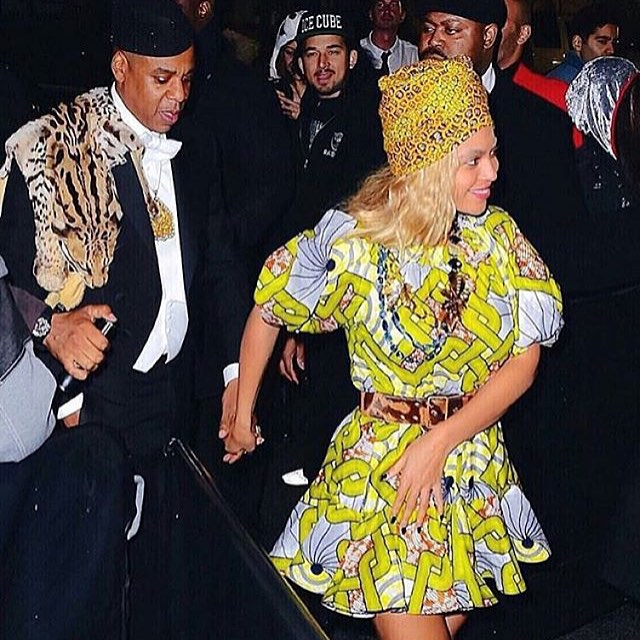 Beyonce and Jay Z  Ivy Blue coming to america halloween costume