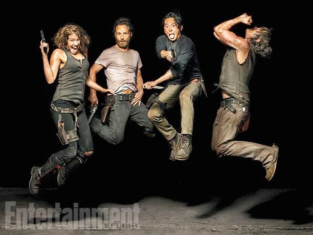 Los protagonistas de la 5ª temporada de The Walking Dead en EW