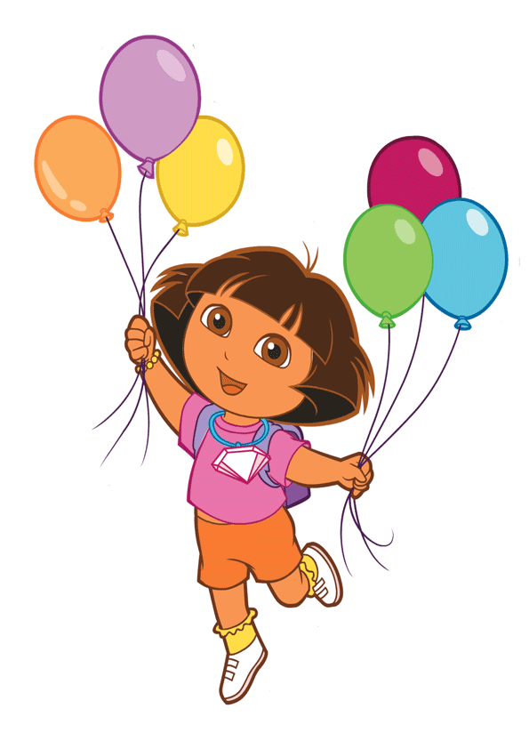 Dora de cumpleaños para imprimir - Imagenes para imprimir.Dibujos