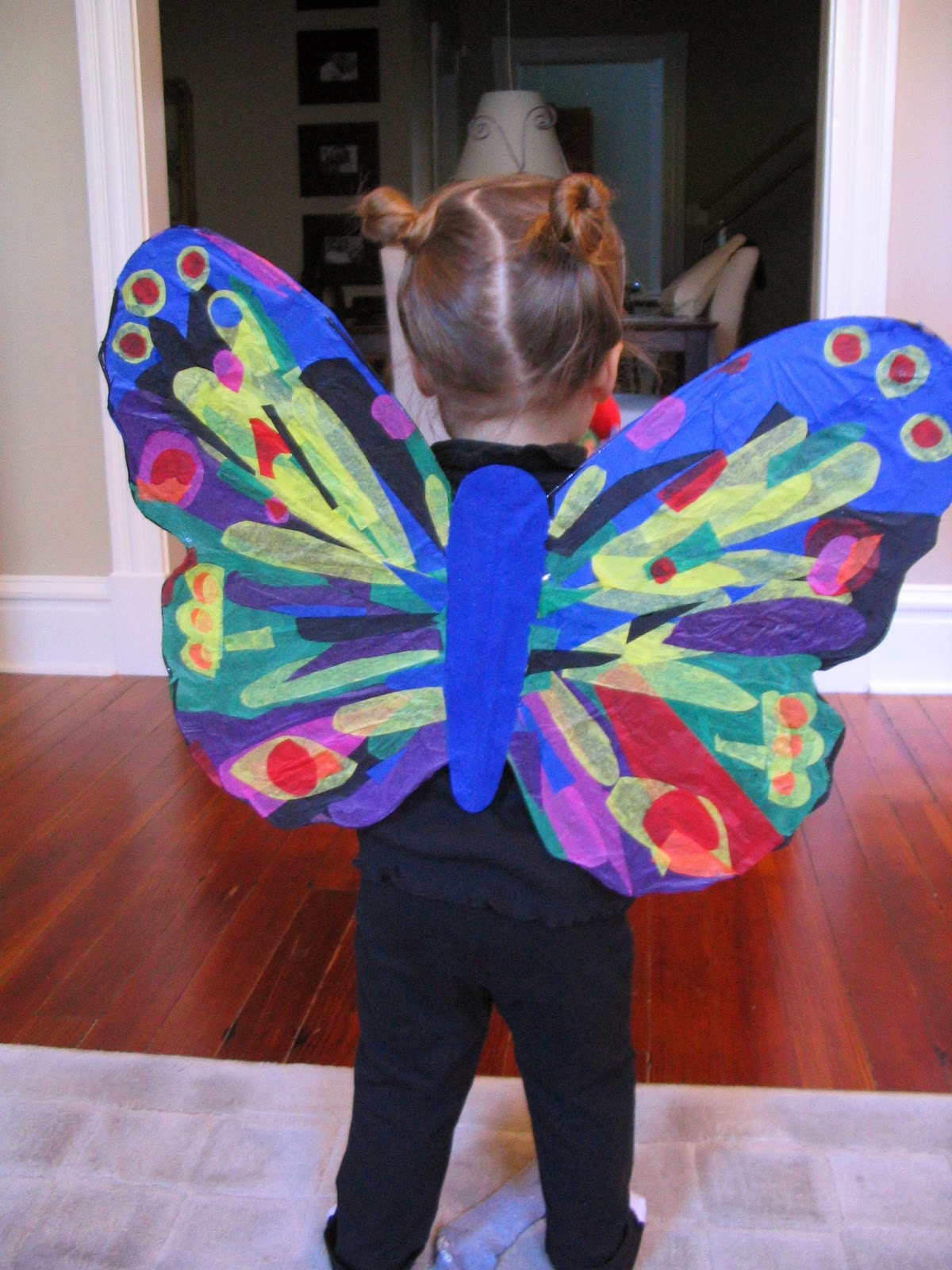 Very Hungry Caterpillar Butterfly Costume book themed hal...