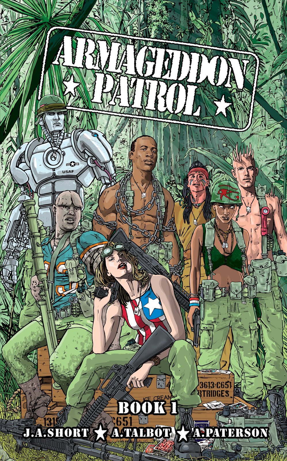Buy 'Armageddon Patrol Book 1' below!