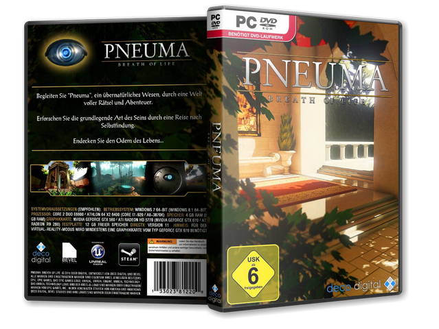 Capa Pneuma Breath Of Life PC