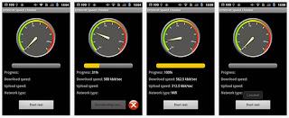 cara memeriksa kecepatan android