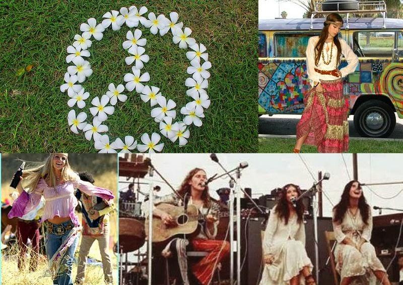 Costumes passion id es de costumes pour tous les themes - Hippie annee 70 ...