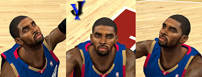 NBA 2K13 Kyrie Irving Cyberface Patch