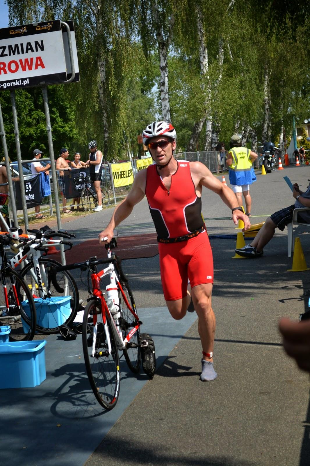 treningi, Zielona Góra, Iron Man, triathlon, Sława, XXX lat, sport, biegi, pływanie, jazda na rowerze, sprint, Przybysław Połoński