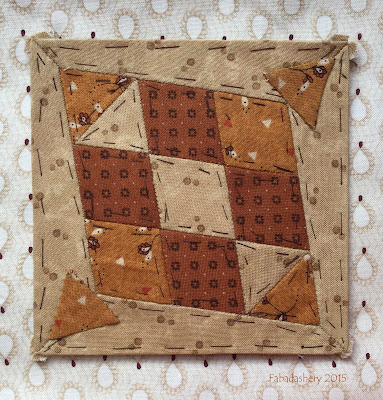 Dear Jane Quilt - Block H2 Jacob Anthony