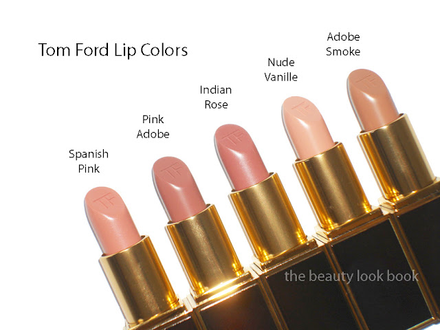 Tom Ford Lipstick Swatches Pinks Amp Nudes The Beauty